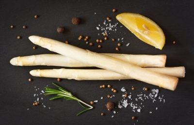 White Asparagus Set Menu